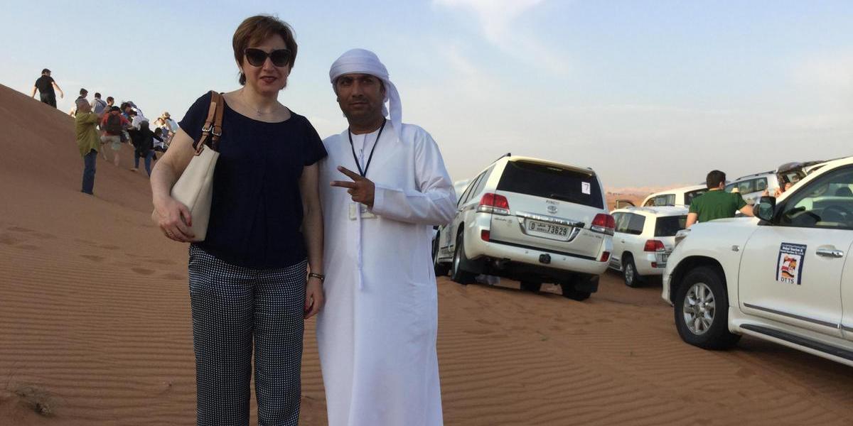 Arabian Travel Market, апрель 2016, Дубай