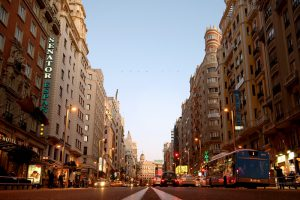 Gran Via or the Spanish Broadway