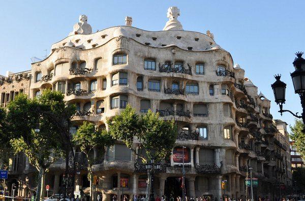 La Pedrera by Antoni Gaudi