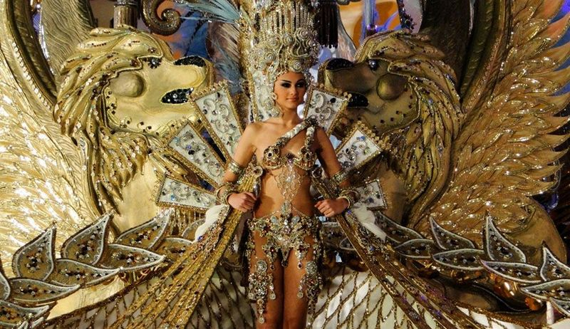 Fascinating carnival in Tenerife