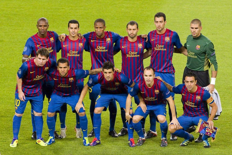 Equipo de FC barcelona