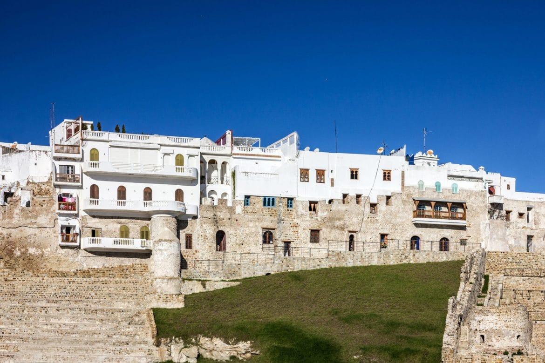 Ruinas de la antigua fortaleza de Tanger