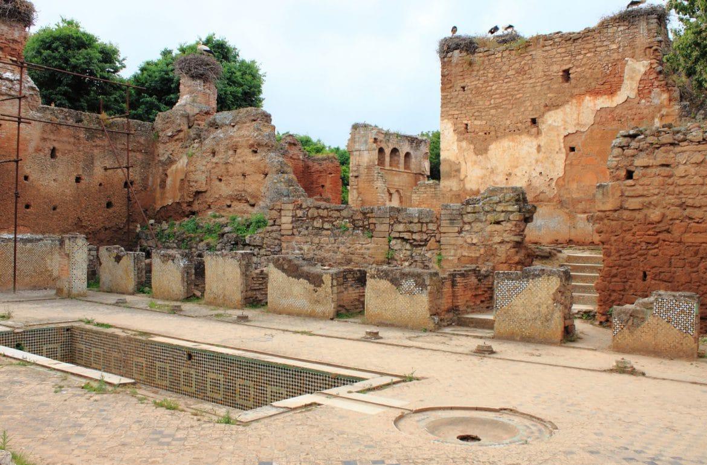 Ruinas de necrópolis de cellah