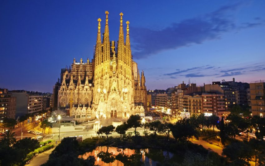 Sagrada Familia in Barcelona