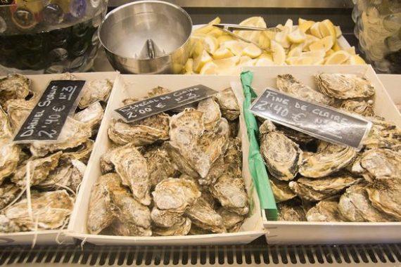 Sant Juan Market interior Oyster Bar