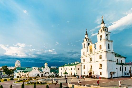Catedral del Espíritu Santo en Minsk