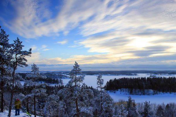 Lago ladoga, karelia, Rusia