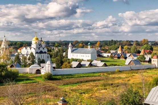 Monasterio Pokrovski en Suzdal