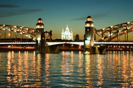 San-Petersburgo. noches blancas