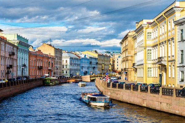 río Moyka en San Petersburgo