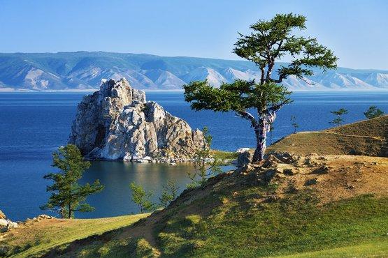 Árbol de los deseos en Lago baikal